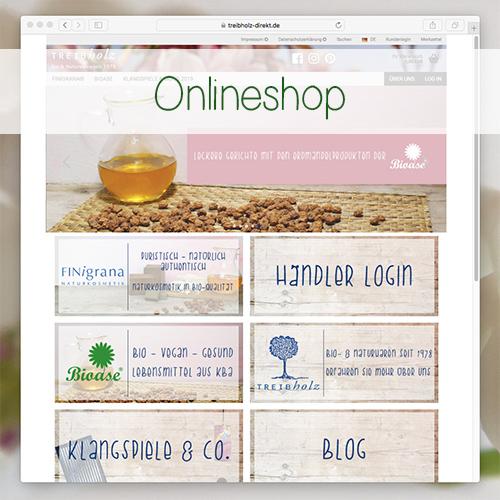 Link zum Onlineshop der Treibholz GmbH
